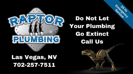 Raptor Plumbing Las Vegas 702 257 7511